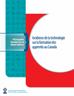 L'incidence de la technologie sur la formation en apprentissage au Canada