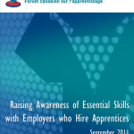 Raising Awareness of Essential Skills with Employers Who Hire Apprentices
